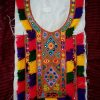 Tribal Cultural Long Neckline with Cuff Border