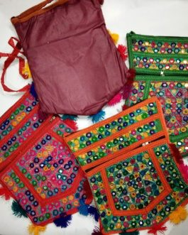 Kite Embroidered Tribal Shoulder Bags