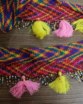 Tribal Beads Lac/Border (1 meter)