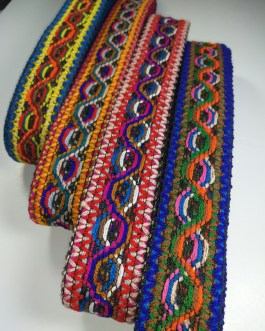 Four Colour Wool Net Trim