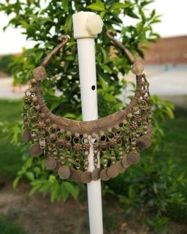 Beaded Big Antique Vintage Choker