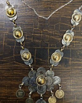 Coins Bunch Tribal Necklace