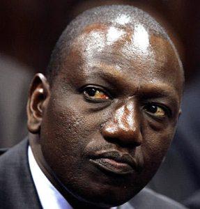 Kenyan Vice President William Ruto