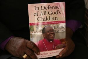 The cover of ' In Defense of All God's Children'