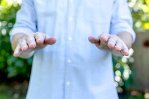 自然的手腕角度