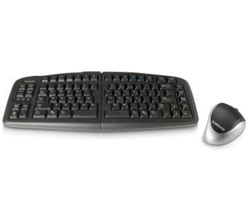 可调节键盘和人体工程学鼠标