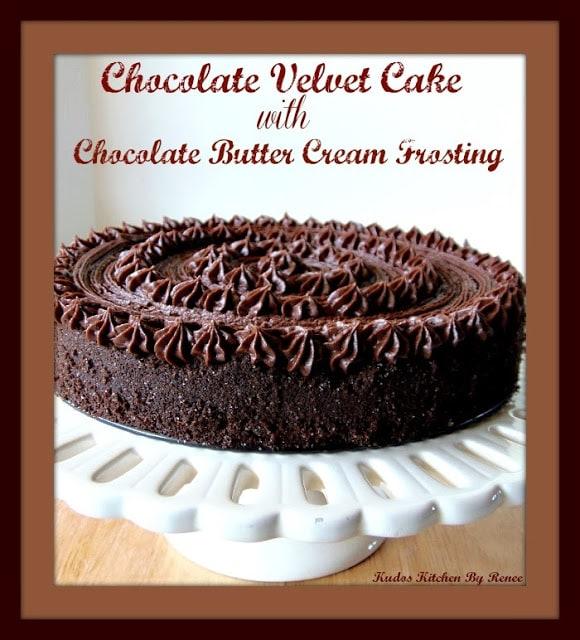 Chocolate Velvet Cake Recipe