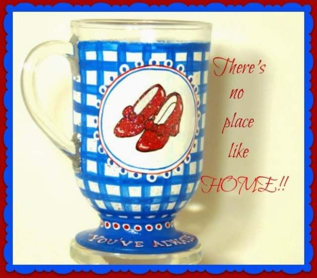 Dorothy's Ruby Red Slippers mug