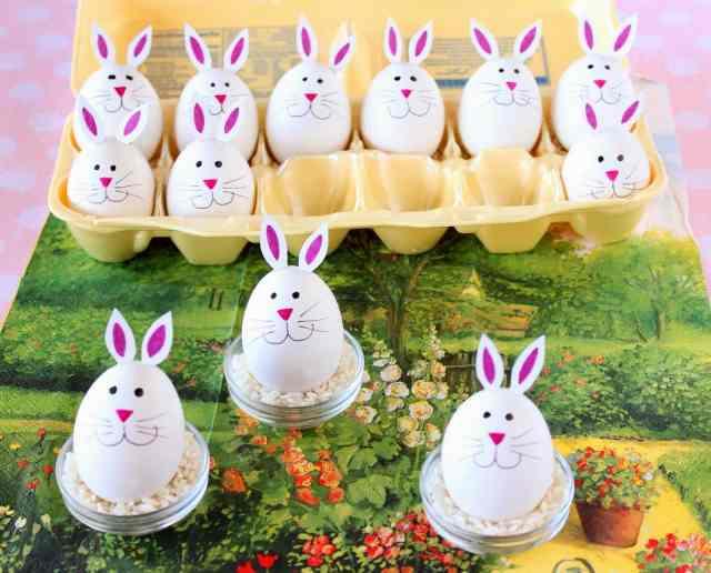 Hard Boiled Bunny Eggs Tutorial