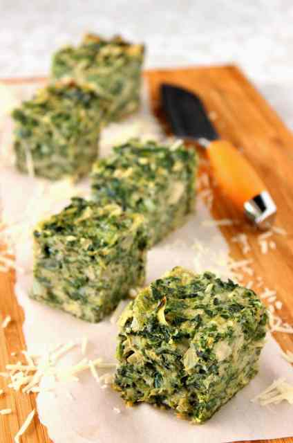 Spinach and Artichoke Squares Recipe