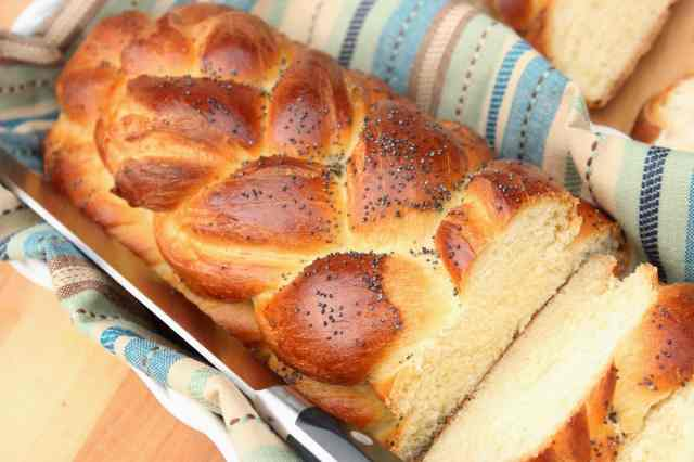 Braided Challah Bread Recipe via Kudos Kitchen By Renee