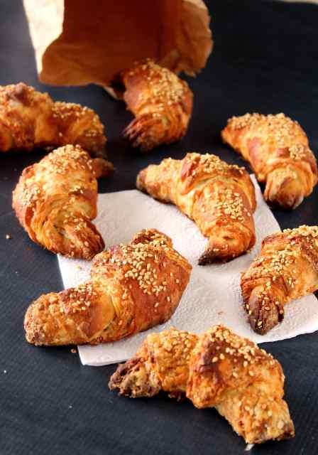 Pretzel Croissant Recipe via Kudos Kitchen By Renee