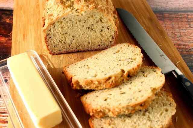 Herbed Soda Bread Recipe via Kudos Kitchen by Renee