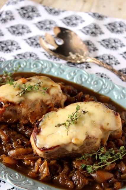 Boneless French Onion Pork Chops - kudoskitchenbyrenee.com