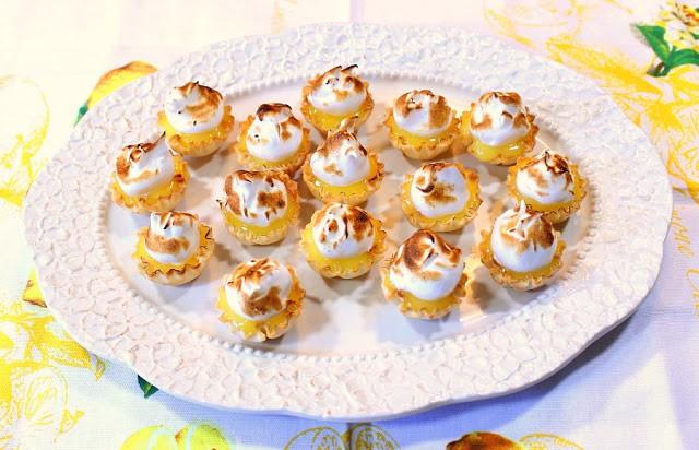 Lemon Meringue Tartlets