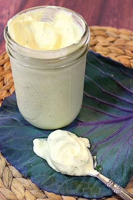 Healthy Homemade Avocado Oil Moyonnaise