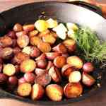 Crispy Red Potatoes with Lemon and Dill