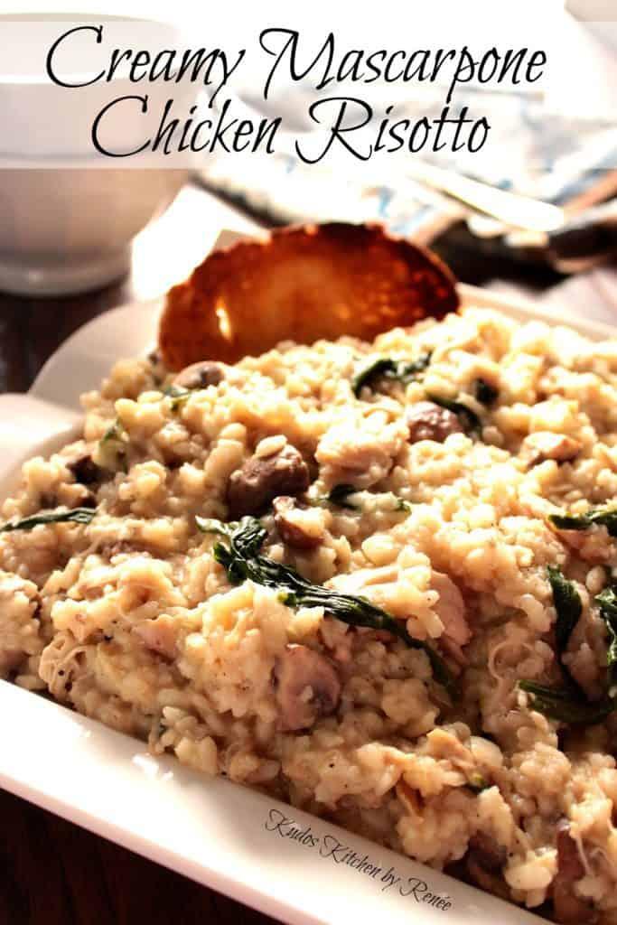 Chicken Risotto with Mascarpone