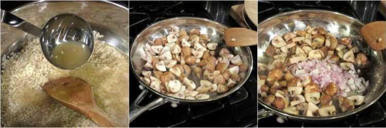 Mascarpone Chicken Risotto