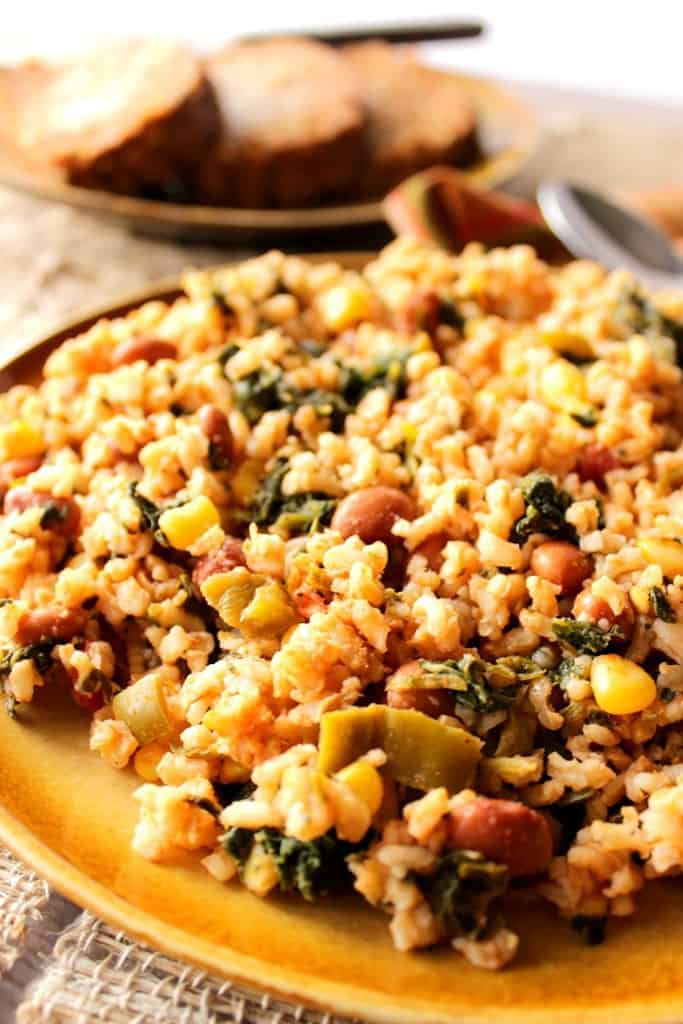 Mexican Beans & Rice Side Dish
