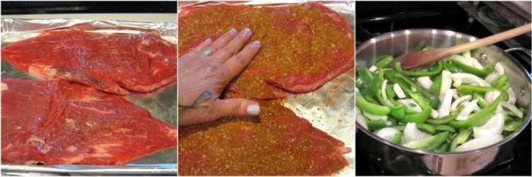 Skirt Steak with Dry Rub