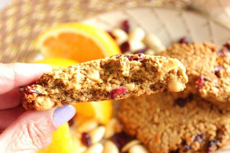Delicious Orange Cranberry Gluten Free Cookies