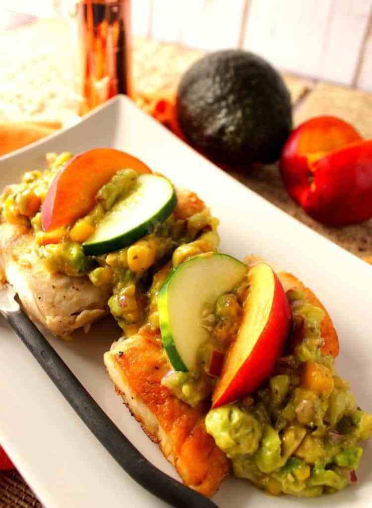 Seared Mahi Mahi Recipe with Nectarine Salsa