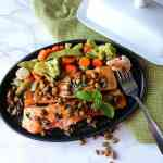 Seared Salmon Fillets with Butter Sauce