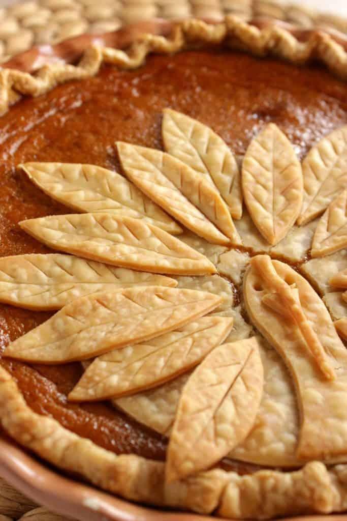 Fun Turkey Crust Pumpkin Pie
