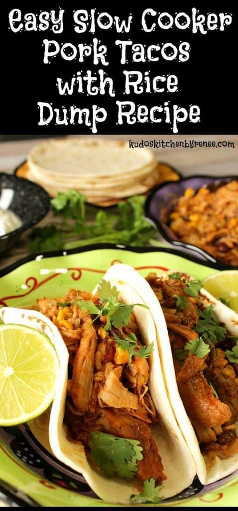 Easy Slow Cooker Pork Taco Dump Recipe