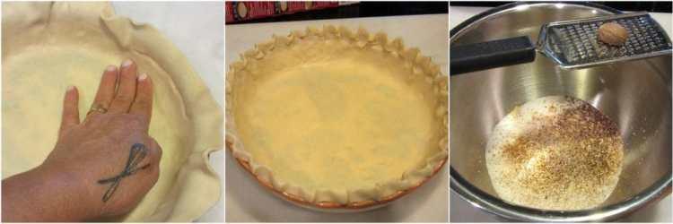 Turkey Crust Pumpkin Pie Directions