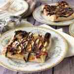 Apple Puff Pastry Squares