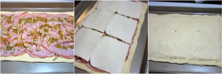 Crescent Ham & Havarti Appetizers