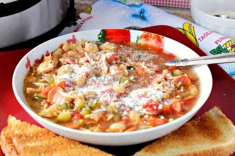 Instant Pot Italian Pepperoni Soup