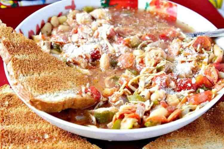 Italian Pepperoni Soup