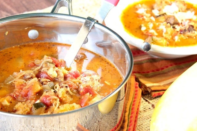Spaghetti Squash Soup