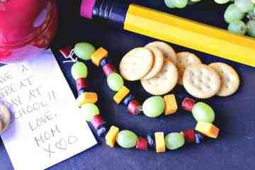 Back To School Healthy Edible Necklace
