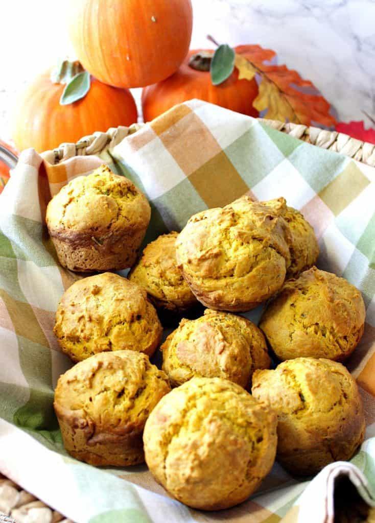 Savory Seasonal Pumpkin Sage Biscuits Recipe   Kudos Kitchen by Renee