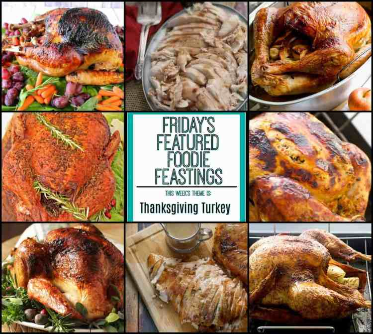 Thanksgiving Turkey Recipe Roundup for Friday's Featured Foodie Feastings
