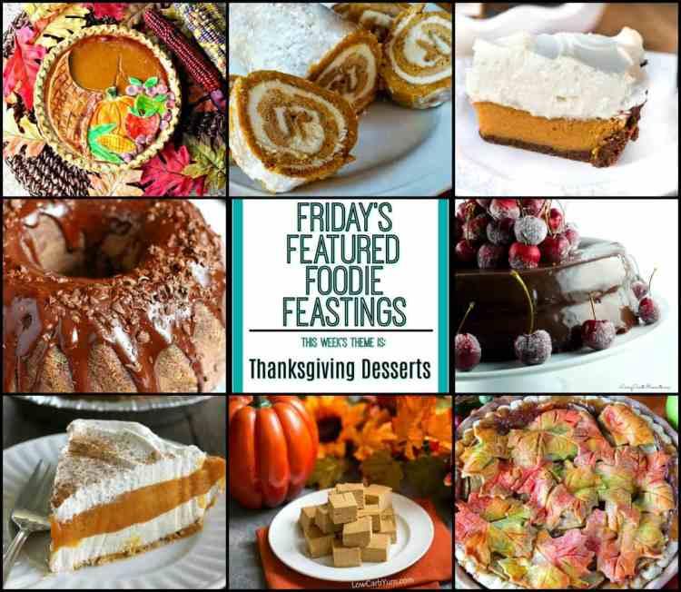 Thanksgiving Dessert Recipe Roundup Friday's Featured
