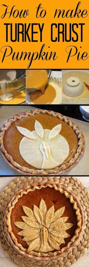 Turkey Crusted Pumpkin Pie - Kudos Kitchen by Renee