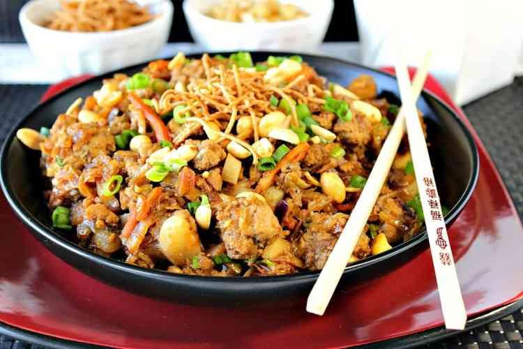Chinese Ground Pork Egg Roll Bowl Recipe Kudos Kitchen Style   Kudos Kitchen by Renee