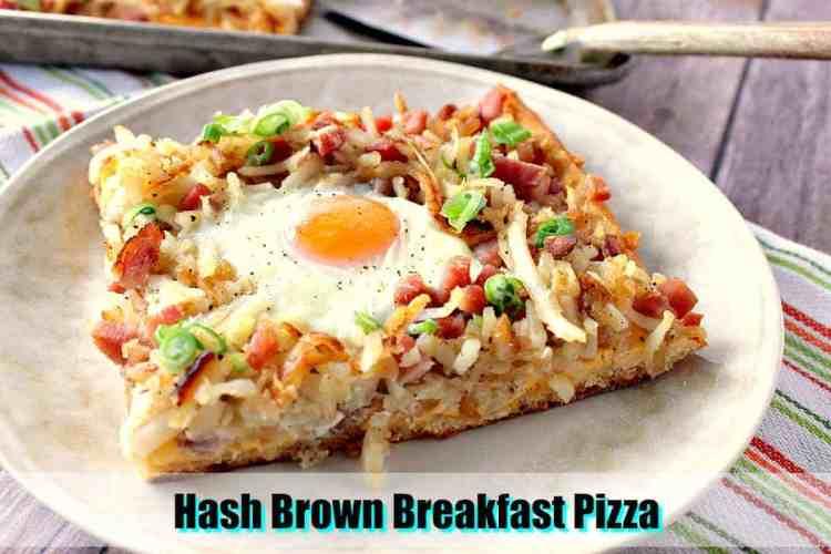 Hash Brown Breakfast Pizza