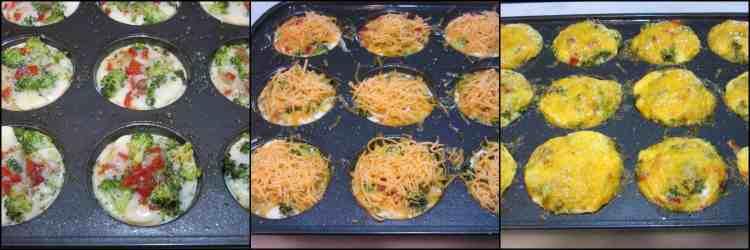 How to make Healthy Quinoa Veggie Egg White Cups for Breakfast - www.kudoskitchenbyrenee.com