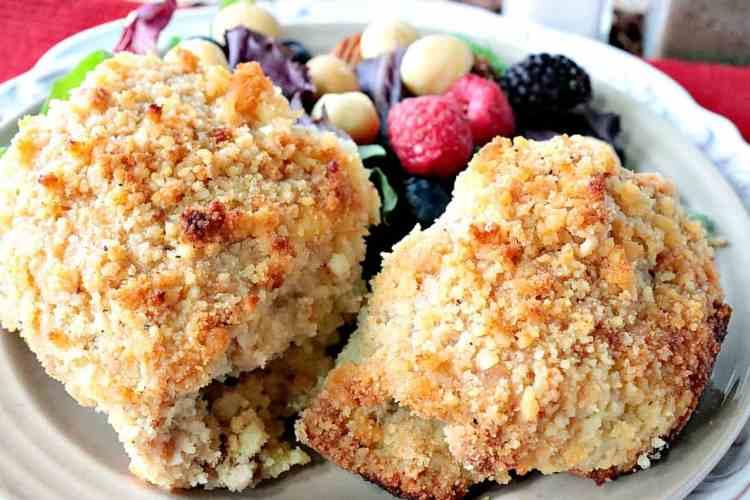 Buttery Gluten Free Macadamia Nut Chicken Thighs - kudoskitchenbyrenee.com