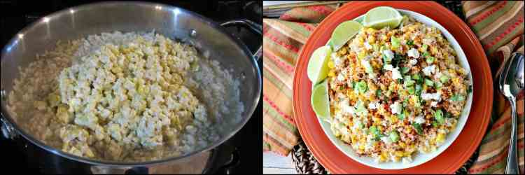 How to make Mexican Sweet Corn Risotto photo tutorial - kudoskitchenbyrenee.com