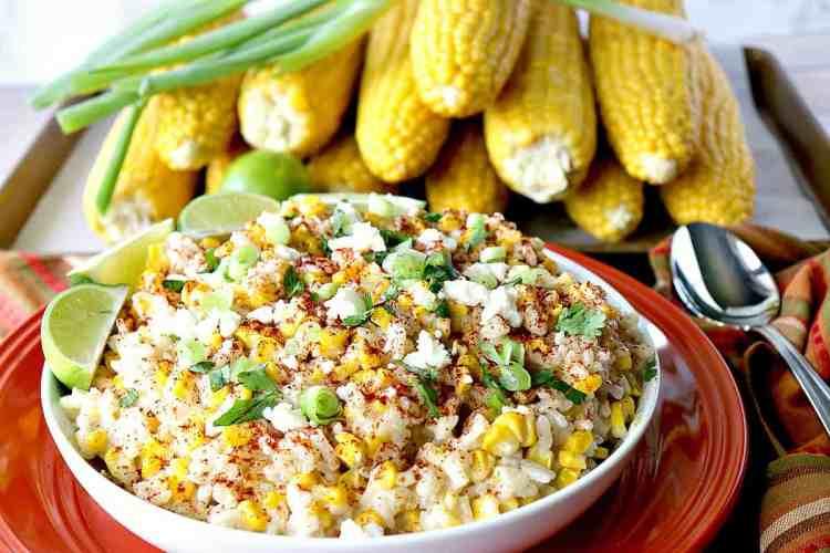 Sweet & Savory Mexican Sweet Corn Risotto - kudoskitchenbyrenee.com