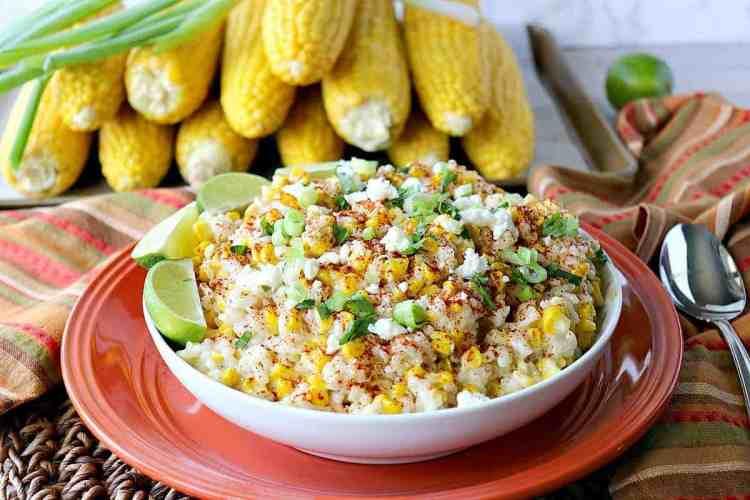 Sweet & Savory Roasted Mexican Sweet Corn Risotto - kudoskitchenbyrenee.com