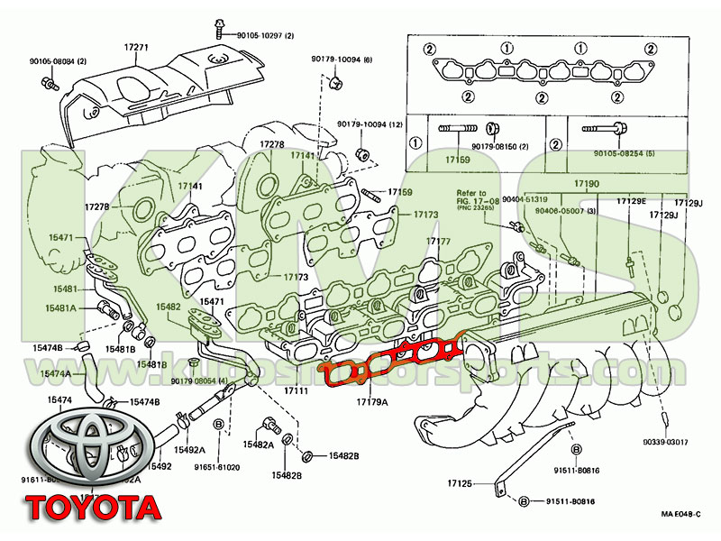 Genuine Toyota Intake Manifold Gasket 17179 88400 Toyota 1JZ GTE?resize=665%2C499 1jzgte jzx90 wiring diagram wiring diagram jzx90 wiring diagram at bayanpartner.co