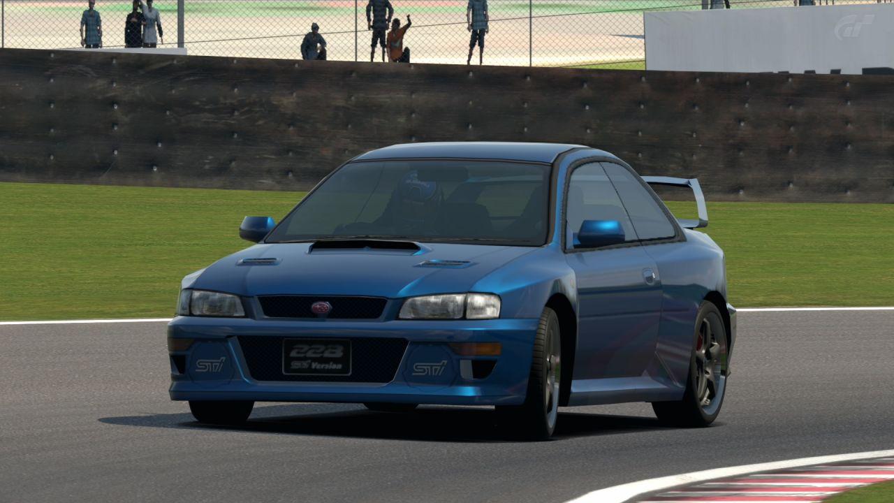 Subaru IMPREZA Coupe 22B ST Version 98 Gran Turismo 6